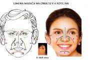 Limfna masaža na obrazu po metodi DIEN CHAN